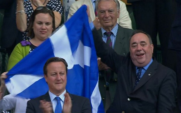 salmond being a bad tit