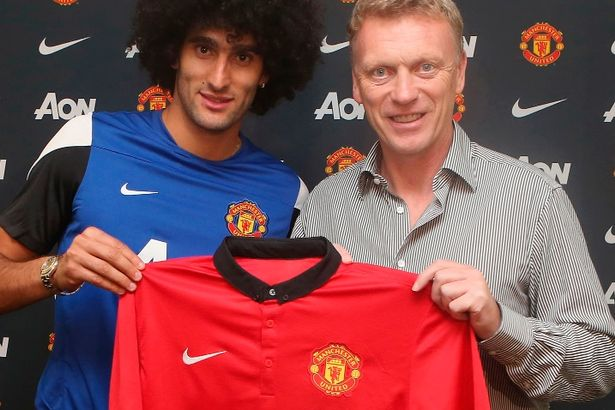 fellaini and moyes