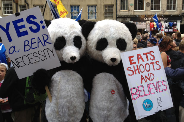 Yes campaign 14th Apr