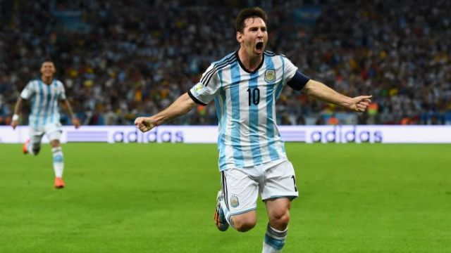 Messi 2014 brazil