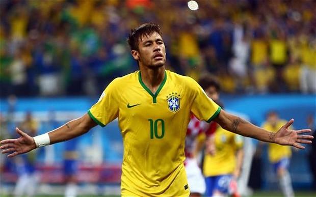 neymar 2014 brazil
