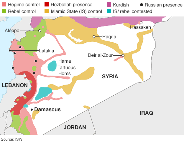 syria map header